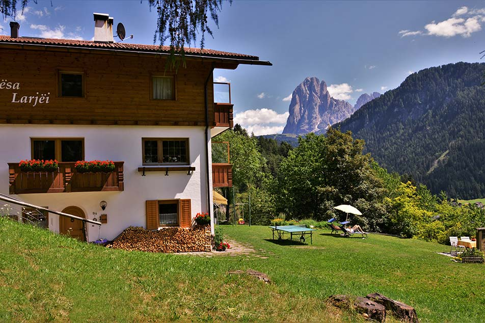 Apartment Larjëi in Ortisei in Val Gardena in South Tyrol - Italy